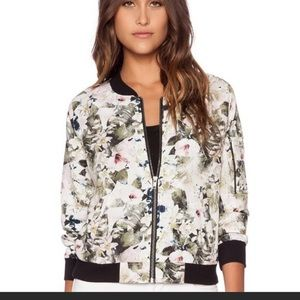 Philosophy Republic floral Bomber Jacket